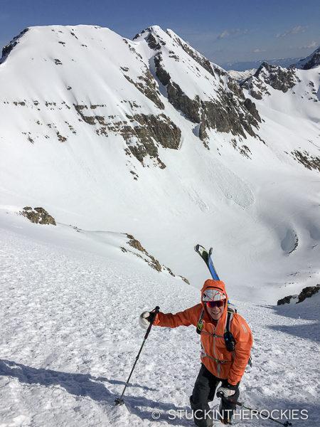 Max Taam on Castle Peak