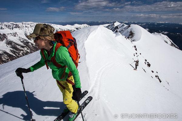 On the summit of Electric Peak.