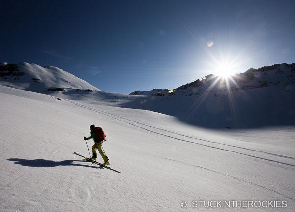 Skiing West Geissler