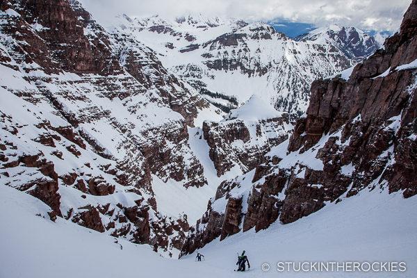 Climning North-Maroon-Peak