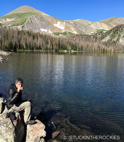 Ted Mahon at Brush Lakes