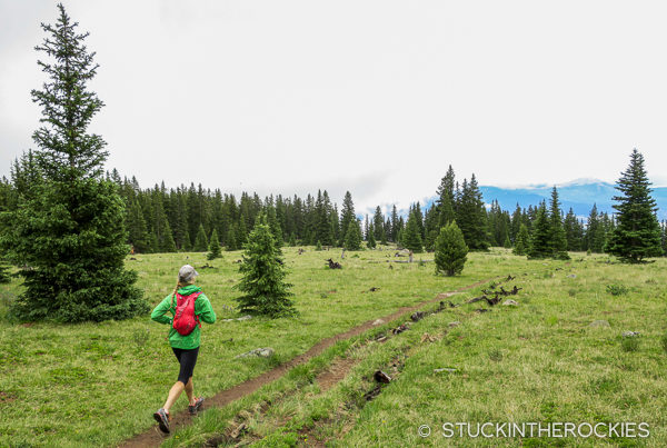 Running the South Elbert Trail