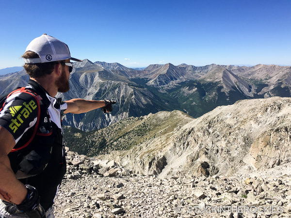 Eric Sullivan on Mount Princeton