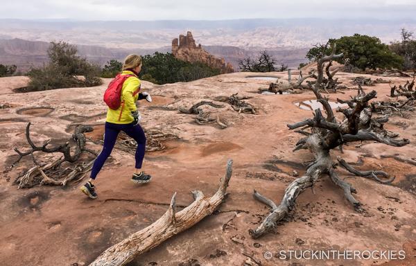 Running in Deadhorse State Park