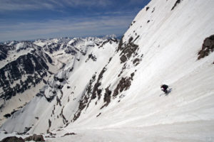 14er Ski Descents – South Maroon Peak – June 1, 2008
