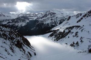 Snowmass Mountain and Hagerman Peak