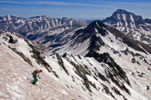14er Ski Descents – Wetterhorn Peak – May 18, 2009