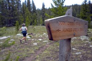 Midway Pass Run- the hard way