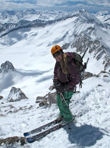 christy mahon skis capitol peak