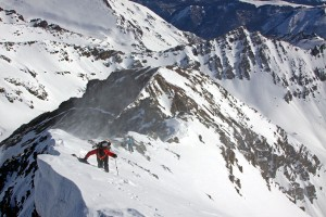 14er Ski Descents – Castle Peak – April 2, 2011