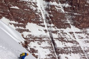 14er Ski Descents – The North Face of North Maroon