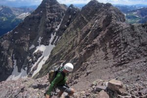 Len Shoemaker Ridge to Pyramid Traverse