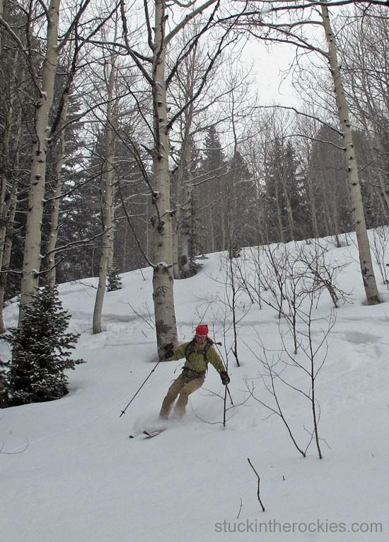 kir newhard on chair mountain