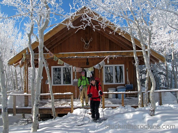 penn and kir newhard's chair mountain cabin