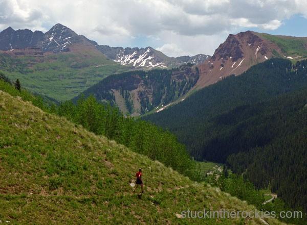 four pass loop trail rider pass fravert basin
