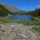 Cotton Lake and Sangre Summits