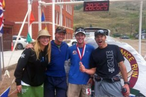 christy mahon, neal beidlman, chris davenport, hardrock 100 finish line, the hardrock