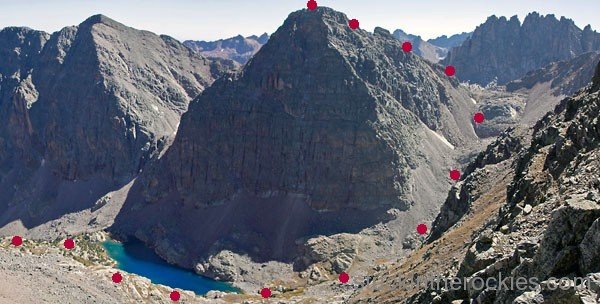 vallectio peak, leviathan peak, leviathan lake