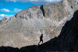 Daly Pass, Clark Peak