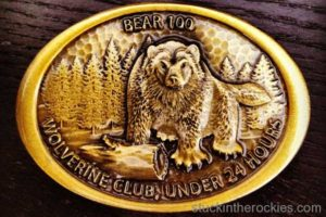 Bear 100 wolverine buckle