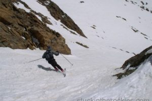 14er Ski Descents – Mount Elbert – May 7, 2004