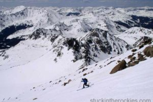 14er Ski Descents – Mount Harvard – May 8, 2004