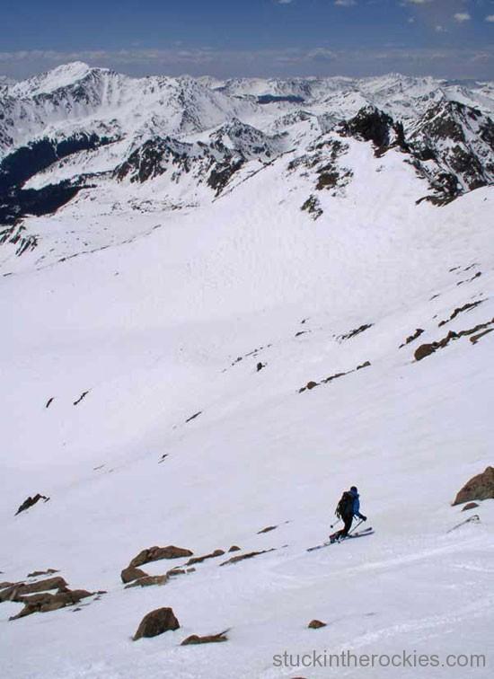 ski 14er mount harvard