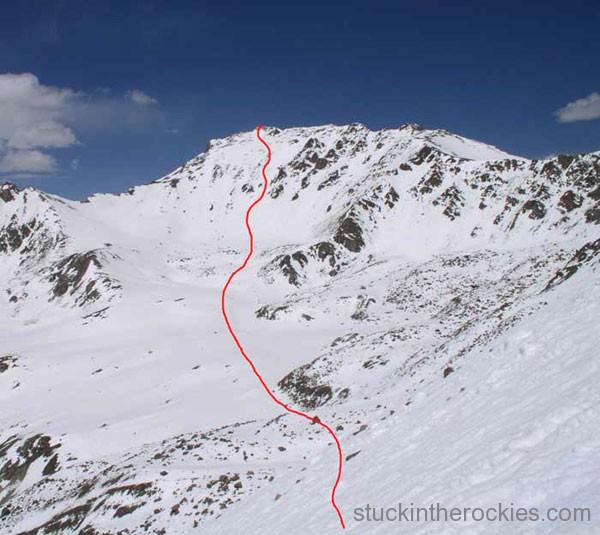 mount harvard ski line