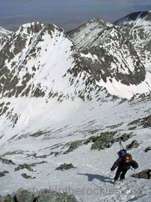 Ski 14ers, Blanca Peak