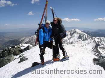 blanca peak ski