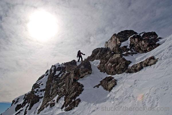 christy mahon, ted mahon, ski crestone peak
