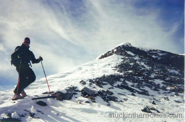 ski Castle peak