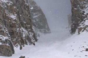 14er Ski Descents – Castle Peak – April 20, 2004