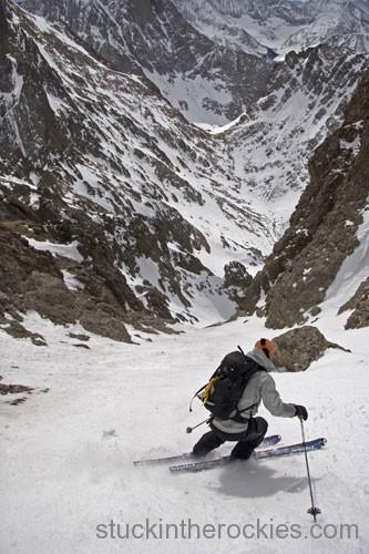 ski Crestone max taam