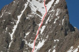14er Ski Descents – Crestone Needle – March 14, 2007