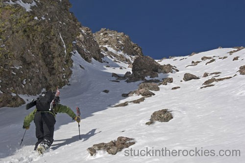 chris davenport kit carson peak