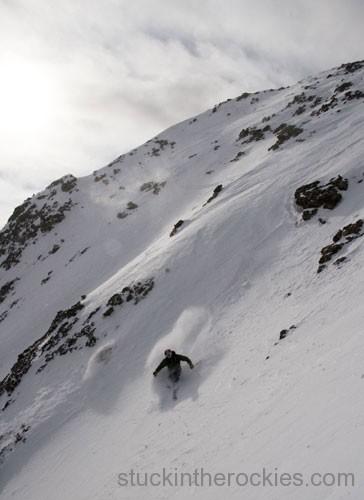 ski 14ers chris davenport kit carson peak