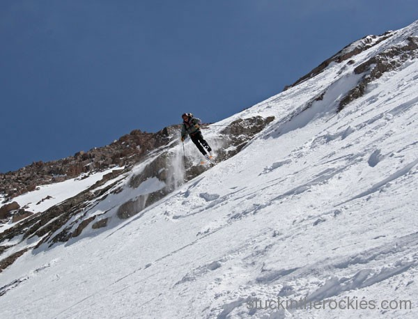 ski 14er north face longs peak