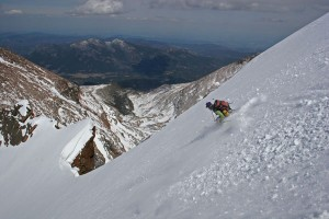 14er Ski Descents – Longs Peak – May 14, 2005