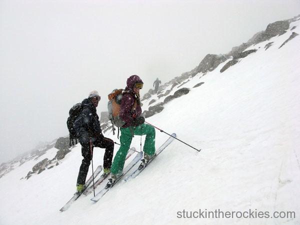 Ski the Angel snowfield