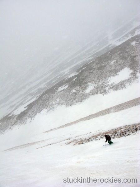 angel of shavano ski 14ers
