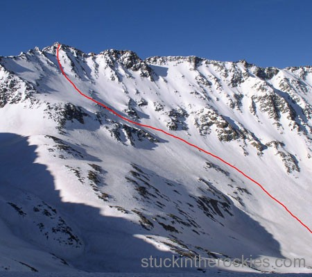 ski north face mount wilson