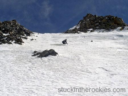 ski north face of mount wilson
