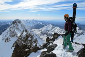 14er Ski Descents – Mount Wilson – May 5, 2010