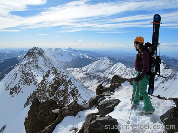 Mount Wilson's summit, christy mahon, wilson el diente traverse