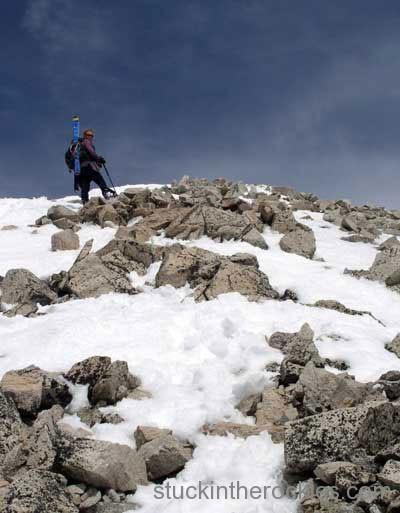 14er skiing mount princeton