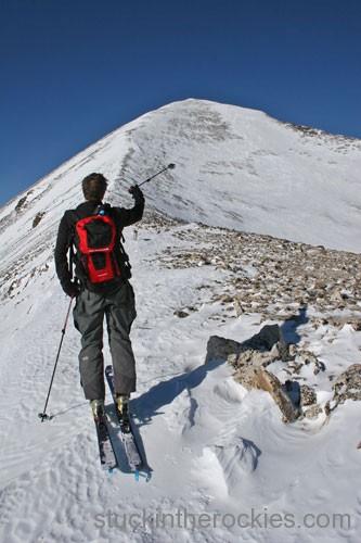 East ridge quandary peak chris davenport