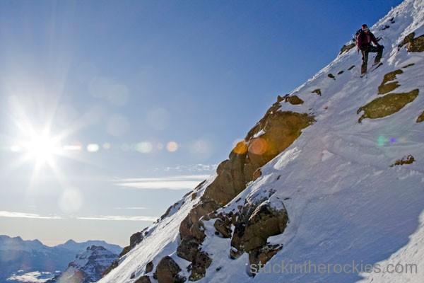 ski mount sneffels birthday chutes