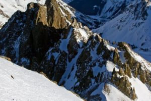 14er Ski Descents – Mount Sneffels – January 9, 2010