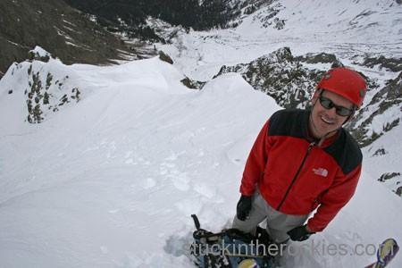 ski sneffels snake couloir